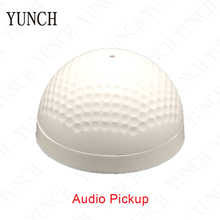 YUNCH Mini CCTV Security Surveillance Microphone CCTV Camera Audio Pickup Input Wide Range Sound