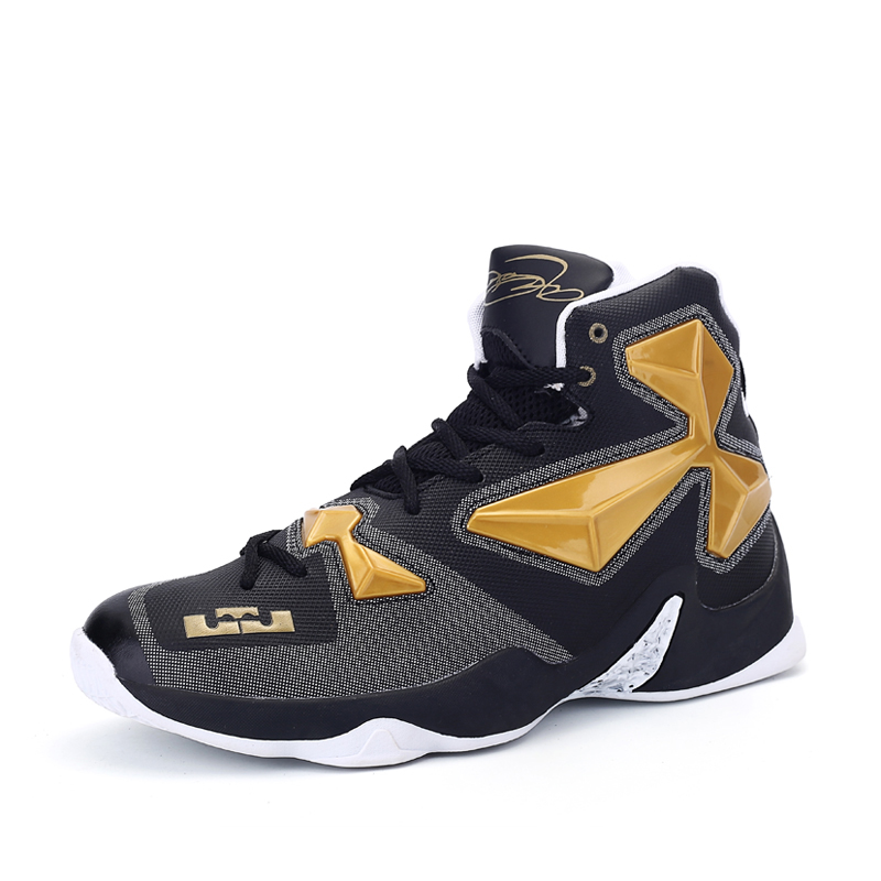 Sport Outdoor Basketball Shoes High-top jordan Basketball Shoes Breathable Athletic Jogg ...