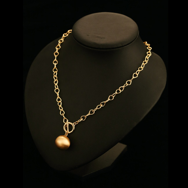 ti maschio with thin porter and bagel necklace portero nascosta round shaped shop gioielli long online pendants chain milano