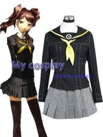 Persona 3 Gekkoukan High School Female Uniform Cosplay Costume Freeshipping