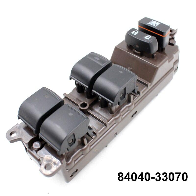 YAOPEI interrupteur de fenêtre électrique de haute qualité interrupteur principal de fenêtre électrique pour Lexus ES350 Prius 84040-33070 8404033070