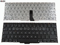 Po Portuguese Keyboard Laptop For Apple Macbook Air A1370 A1465 11 6 BLACK For Backlit Repair