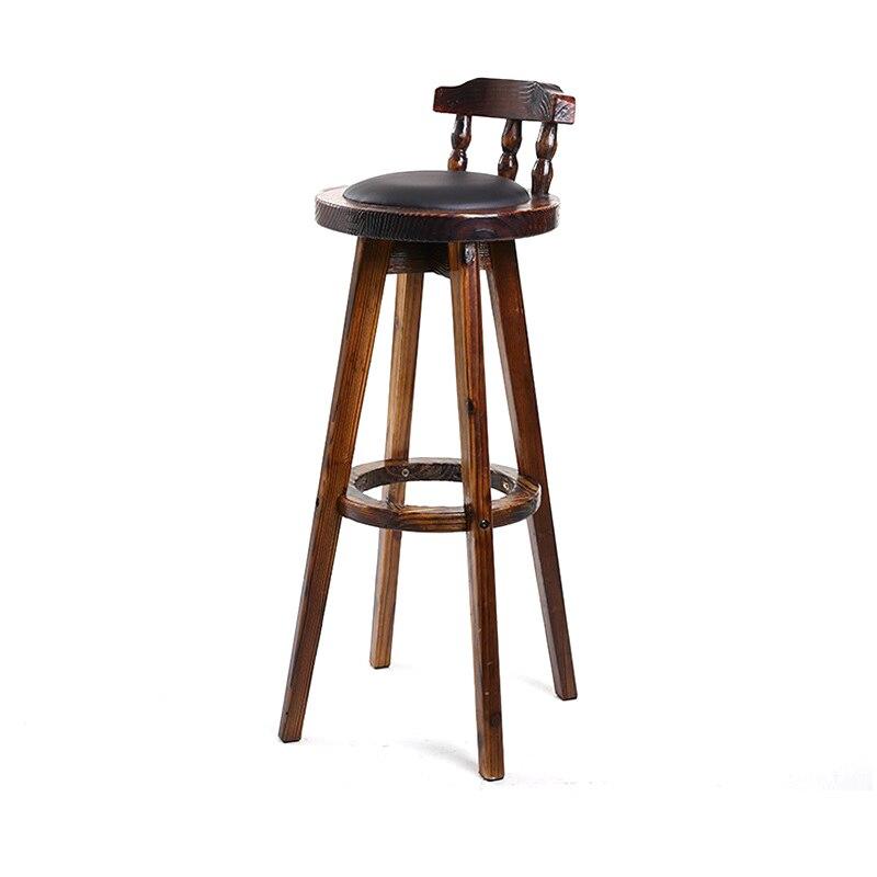Fauteuil Taburete De La Barra Sandalyesi Barkrukken Kruk Stuhl Stoelen Ikayaa Leather Stool Modern Silla Cadeira Bar Chair
