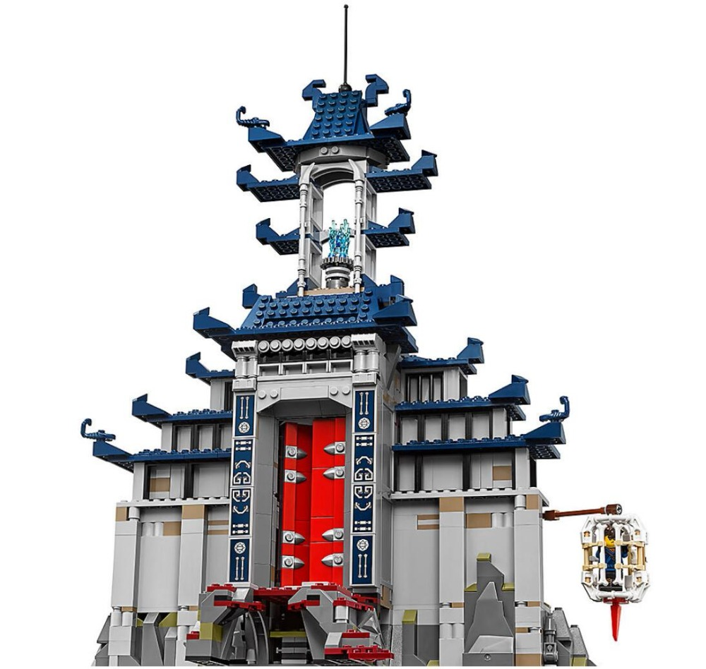 Bela 10722 Ninja 70617 Temple of The Ultimate Ultimate Weapon Masters of Spinjitzu Building Blocks Toys Compatible With Legoings bela 755pcs ninja db x nya pythor kai masters of spinjitzu building blocks bricks model toys kids brinquedos page 5