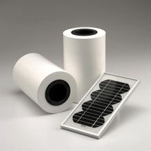 550MM x 15M Solar Panel Backing TPE Sheet For DIY Solar Cells Lamination