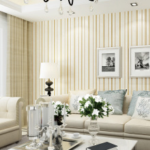 цена на Modern Strip Wallpaper for Walls 3 d Non Woven Vertical Stripes Contact Paper Blue Grey Living Room 3D Wallpaper Roll for Walls
