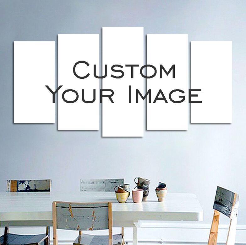 Пользовательские деревянная рамка для холста картина маслом Природа Дерево DIY пользовательских frame Большие размеры изображение внутренней...