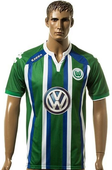 reputable site bced5 fb5f2 Latest 2016 Wolfsburg Soccer jersey 16 17 Bundesliga ...