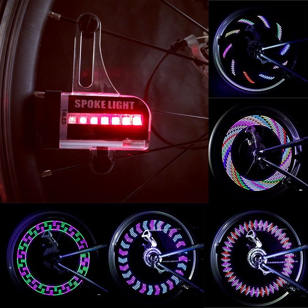 Light Lamp Motorcycle Tire 32 Sportsamp; 1pc Led Bicycle Spoke 5Off Tyre 14 Bike Valve Wheel Entertainment Us4 Car In Flash From AL54Rj