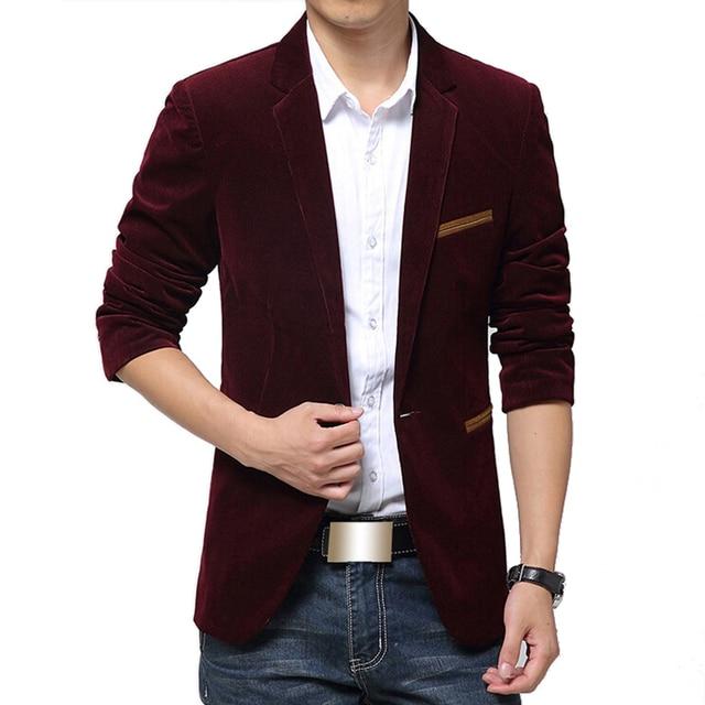 2016 Блейзер Мужчины Британский Стиль пиджак Тонкий Случайных костюм мужской Блейзеры Мужчины Терно Masculino Пальто Плюс Размер 5Xl Марка одежды