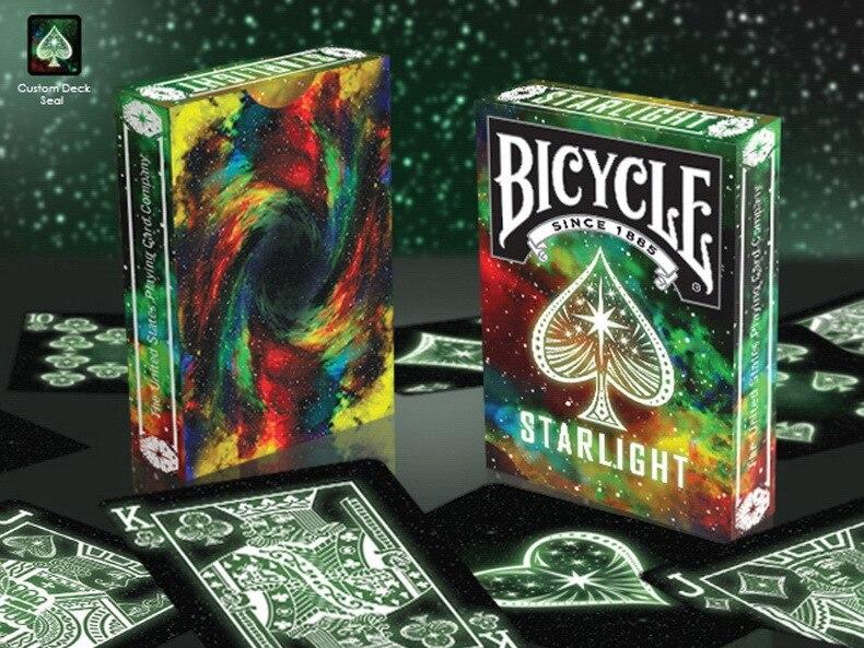 1pcs Bicycle Starlight Blackhole Deck Magic Cards Playing Card Poker - Juguetes clásicos - foto 2