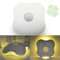 LED Night Light DC5V PIR Auto Motion Sensor Battery USB Novelty Atmosphere Emergency Table Lamp For