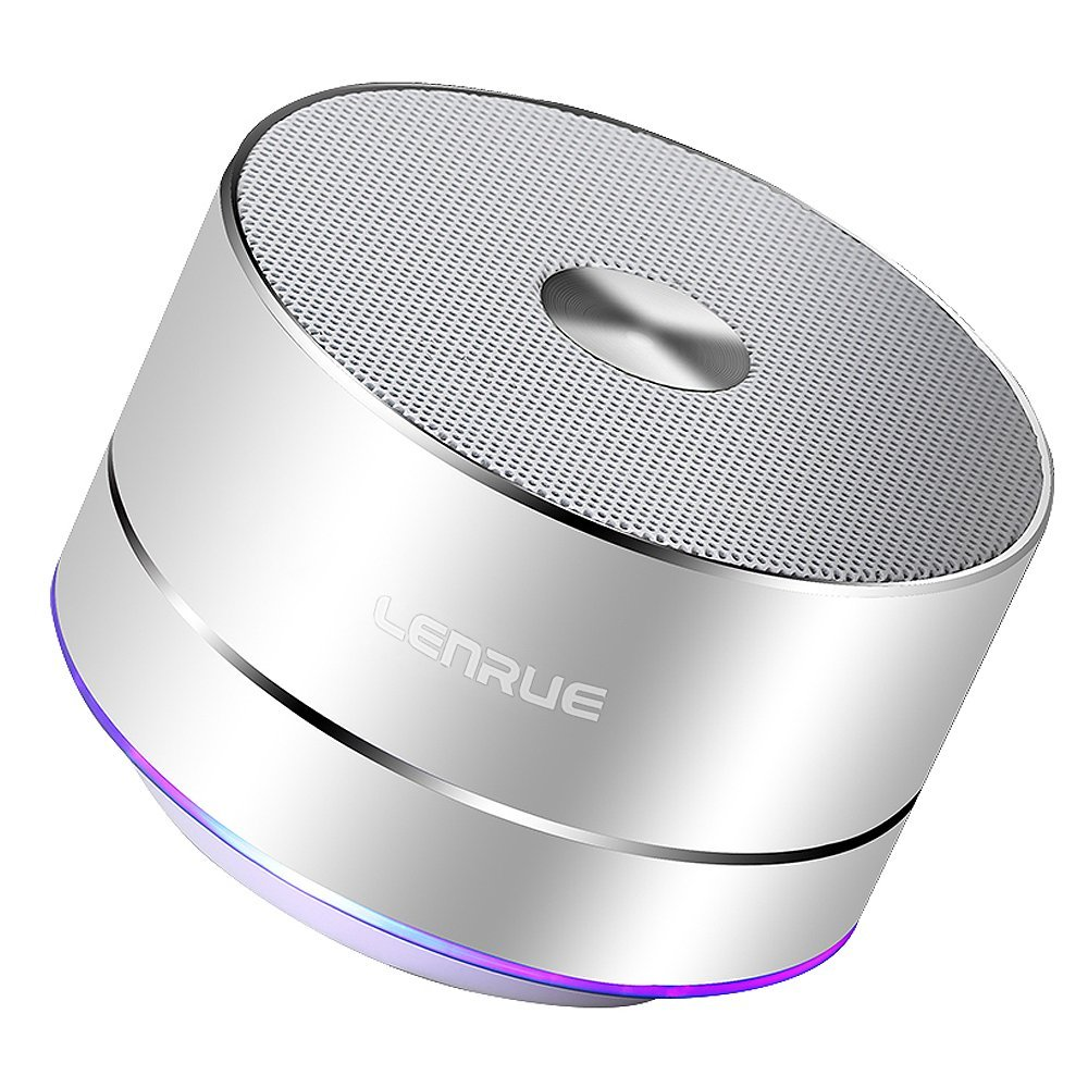 Portable Bluetooth Speaker A2 Wireless Mini Outdoor Rechargeable LED Stereo Sound Enhanced Bass Mic Ios Andriod Tablet