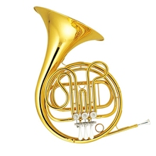 Musical Instruments French Horn F Flat 3 Valves Single Row French Horn One-piece Bell with Case and mouthpiece 2015 new jazzor 4 key double french horn entry model bb f wind instruments french horns jzfh e310 monel valves with padded box