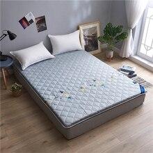 Утолщенный матрас для кровати мягкий дышащий мягкий удобный матрас татами двойной/матрас для односпальной кровати крышка/Топпер набивка/наполнение