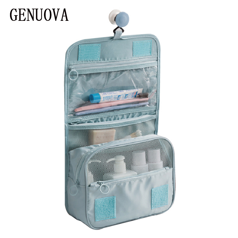 New Waterproof Travel Large Capacity Storage Bag Men and Women Travel Portable Hook Wash Cosmetic Bag Fashion Travel Accessories