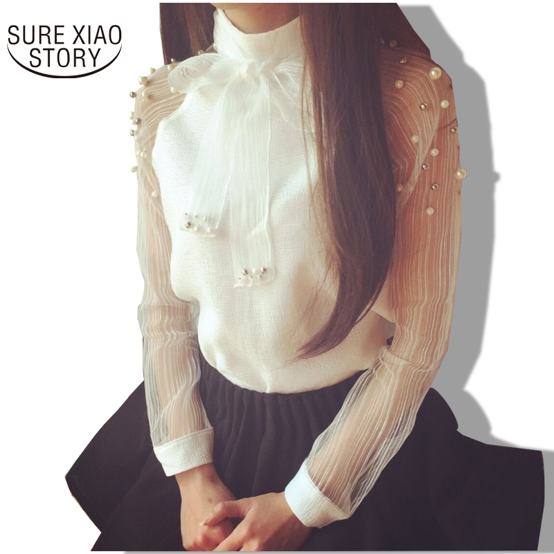 White Blouse Shirt