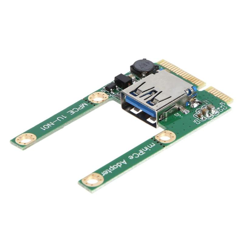 Mini PCI-E To USB 3.0 Adapter Card PCI Express PCI-E To USB 3.0 Expansion Card Computer Components Add On Cards For Laptop