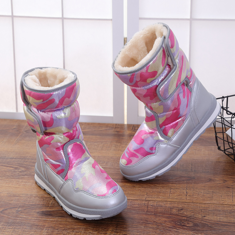 2017 new arrivals women winter shoes high quality waterproof warm women boots slip-resistant thick plush snow boots size 36-41 2017 new anti slip women winter martin