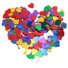 Colorful Heart Shaped Confetti