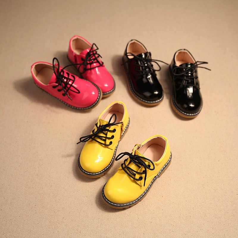 Детская обувь; коллекция 2018 года; сезон весна-осень; модельные кожаные ботинки Liangpi; модная детская обувь для мальчиков и девочек
