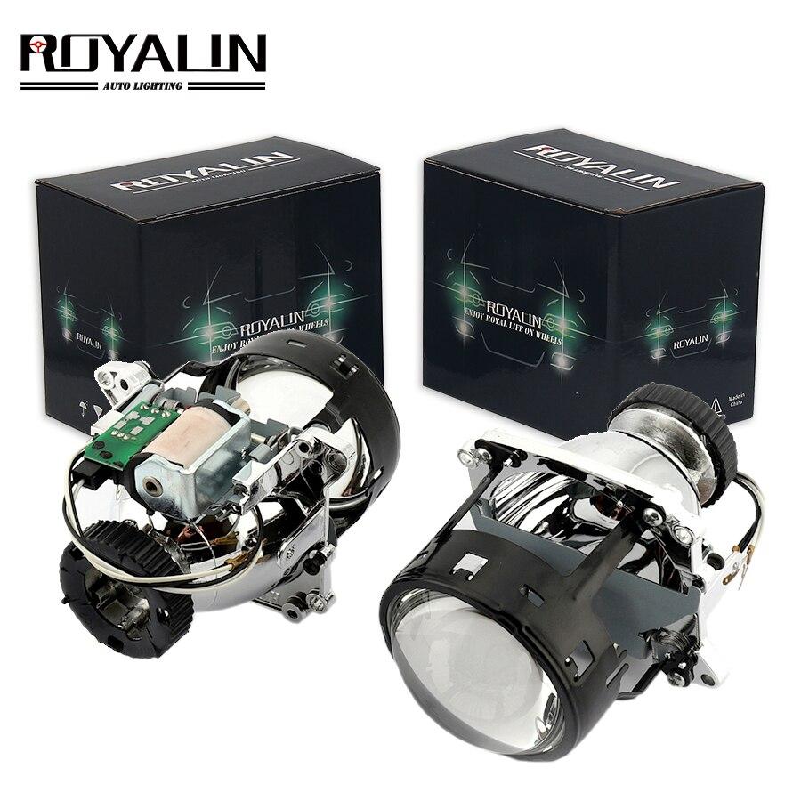ROYALIN AL Bi xénon projecteur phares lentille D2S pour BMW E46 E39 E60 X5 E70 Audi A3 A4 Mercedes W203 W204 VW Golf GTI Touran