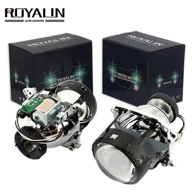 Royalin Al Bi Xenon Faros Lente D2s Para Bmw E46 E39 E60 X5 E70 Audi A3 A4 Mercedes W203 W204 Vw Golf Gti Touran