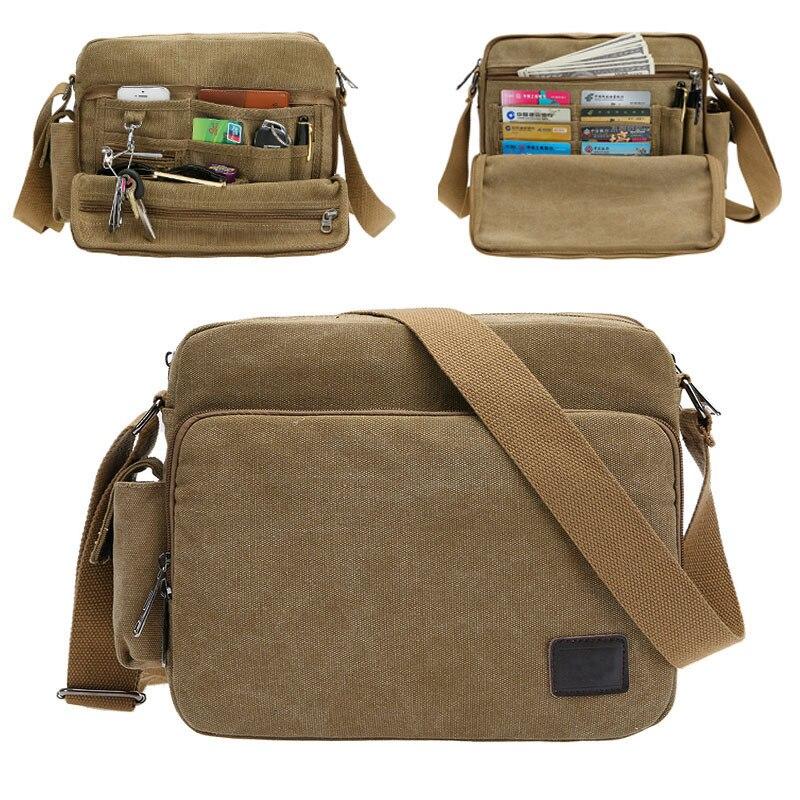 Aliexpress.com : Buy canvas bag man shoulder bag men's casual bag ...