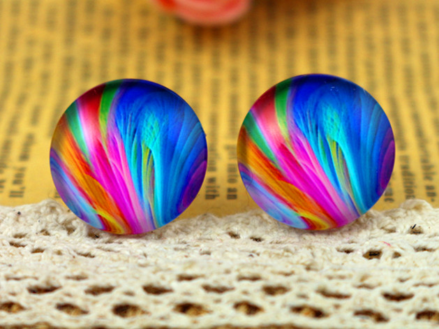 2018 Hot Sale 10pcs 20mm Handmade Photo Glass Cabochons  (H3-67)
