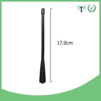 5pcs Walkie Talkie Antenna UHF 400-470MHZ Single Band Antenna Handheld Radio Walkie Talkie compatible for Kenwood Antenna