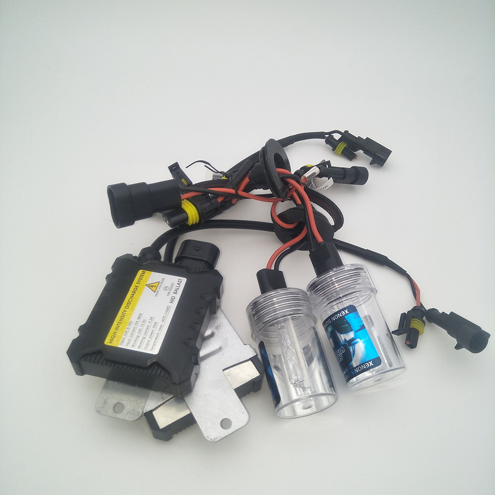 35W H15 Xenon HID Gas Discharge Conversion Kit Canbus DRL For Audi A6 2009-On
