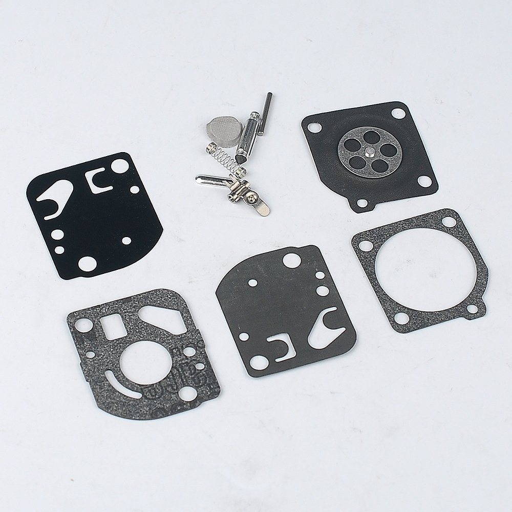 5X CARBURETOR DIAPHRAGM GASKET REPAIR KIT RB-21 FOR ECHO ZAMA CARB C1U-K4 K7 K8 K10 K11 K14 K15 METERMING REBUILD CARBY OVERHALT zama carburetor for grass trimmer garden power tools cutters accessory fit stihl fs55 fs55 t fc55 km55r hl45 zama c1q s66 carb