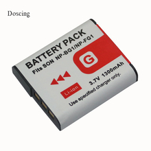 1.3Ah NP-BG1 NP-FG1 NP BG1 Battery For SONY Cyber-shot DSC-H9 DSC-H10 DSC-H20 DSC-H50 DSC-H55 DSC-H70 DSC-H90 DSC-H3 DSC-H7