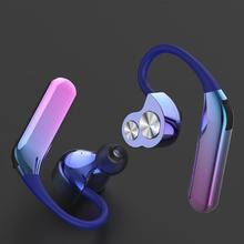 X6 TWS Bluetooth Earphone Dual Moving Coil IPX7 Waterproof Earhook w/Mic Stereo Auricula for xiaomi/