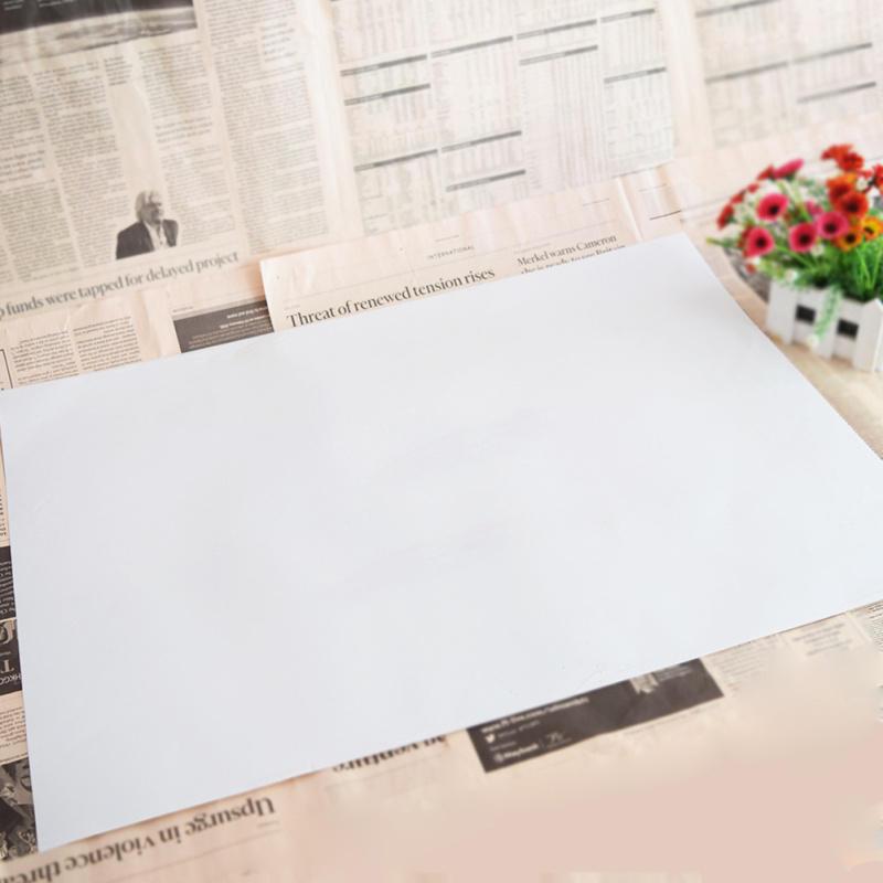 Waterproof White Board Wall Sticker DIY Children Kids ...