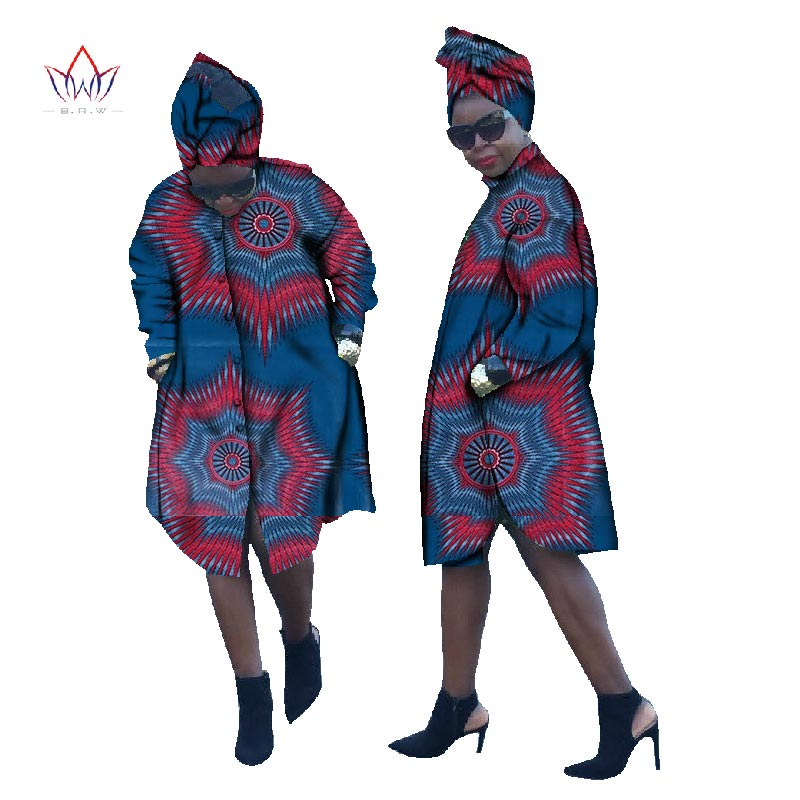 Blouse Clothing Coat Long-Sleeve Cotton Women New African 6xl Summer BYWWY841 Kleidung