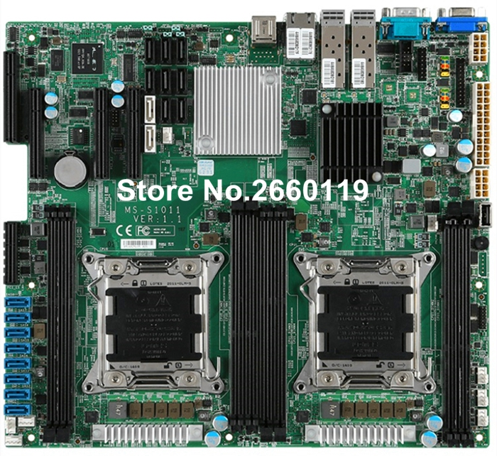 For MS-S1011 DDR3 LGA2011 system motherboard, fully tested ms g41mdl ddr3 g41l motherboard