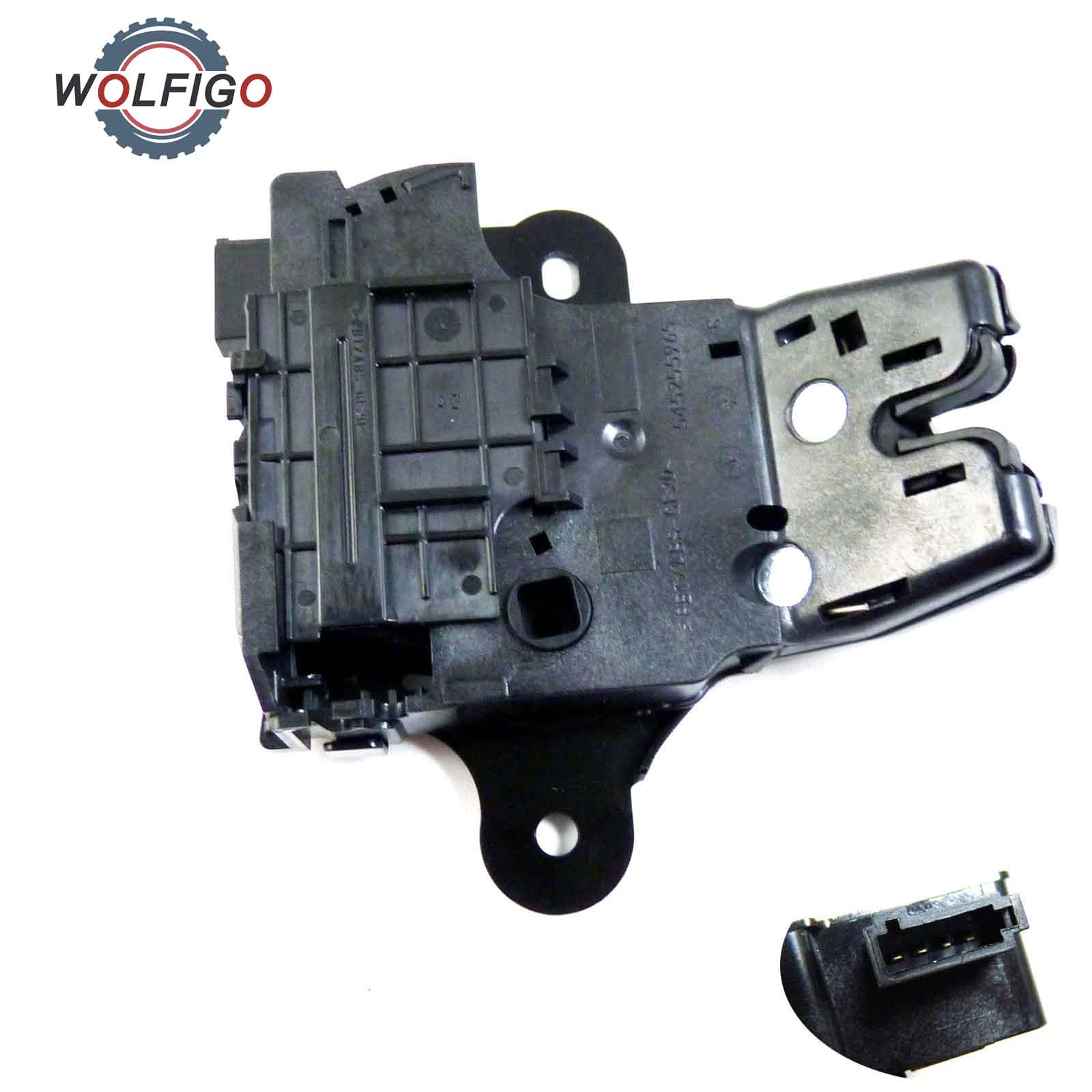 hight resolution of wolfigo trunk lock lid latch 13501988 for chery chevrolet malibu camaro sonic curze cadillac cts ats buick regal verano lacrosse in trunk lids parts from