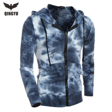 2017 Fashion New Brand Hoodies Men Casual Sportswear Men Hoodie Zipper Long-sleeved Sweatshirt male Slim Fit Men Hoodie Size XXL