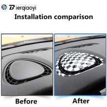 For MINI Cooper F56 F55 F54 Clubman Car Interior Dashboard Outlet Sticker Cover Accessories
