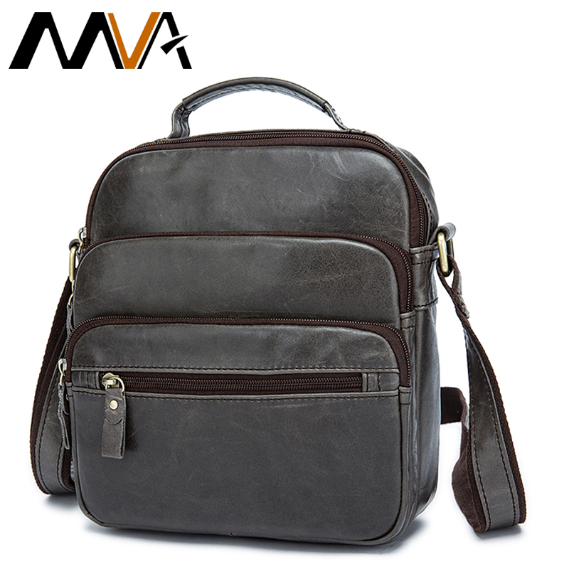 ФОТО MVA Genuine Leather Men Bag Men Messenger Bags Brand Men's Leather Bag Casual Multifunction Shoulder Crossbody Bags Man Handbag