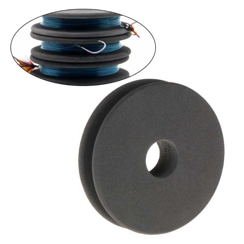 Enrouleur de ligne bobine panneau Trace fil pivotant canette Leader Snell Rigger gardien boîte à outils accessoires EVA mousse