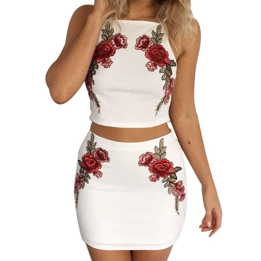 HTB1J2W8QpXXXXX3XXXXq6xXFXXXV - FREE SHIPPING Sexy Beach Dress Embroidered Flower Sling Two Piece Set JKP376