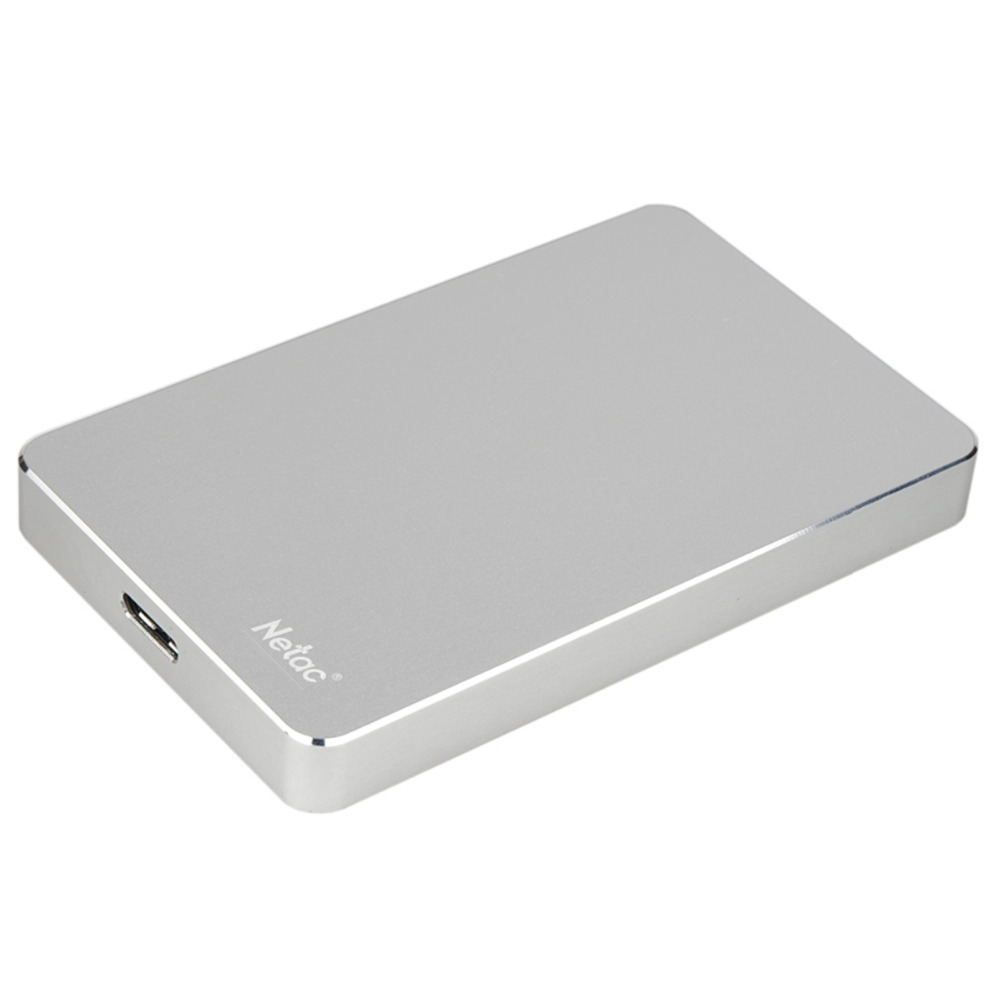 Netac K330 USB 3.0 External Hard Drive Disk 2TB HDD Metal Housing HD Hard Disk With retail packaging