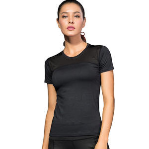 2020 Women Yoga Tops Quick Dry Sport Top Fitness Women Top Black Solid Sleeveless Gym Running Tops Fitness Clothing T Shirt