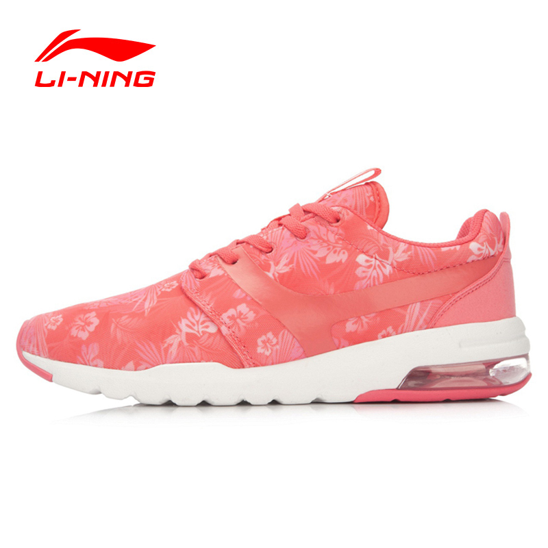 Li-Ning Women's Leisure Walking Shoes Breathable Sneakers Sports Life LiNing Footwear Sports Shoes GLAL046 YXB028 li ning outdoor sports life series wear resisting breathable young steady sport shoes sneakers walking shoes men alck021 xmr1052