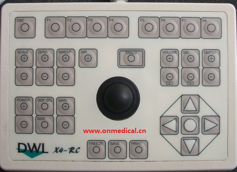 Keyboard Suitable For DWL X4-RC Remote Control Panel