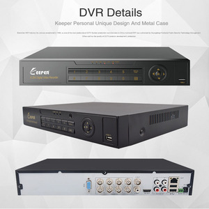 Image 5 - KEEPER enregistreur vidéo avec DVR hybride, 8 canaux 1080P Full HD, pour caméra AHD TVI CVI AHD CVBS IP, 5 en 1