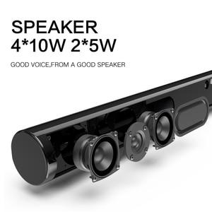 Image 3 - HAAYOT Split Type 50W HIFI Wireless Bluetooth Speaker Stereo Soundbar Support USB Optical RCA HDMI Subwoofer for TV Sound Bar