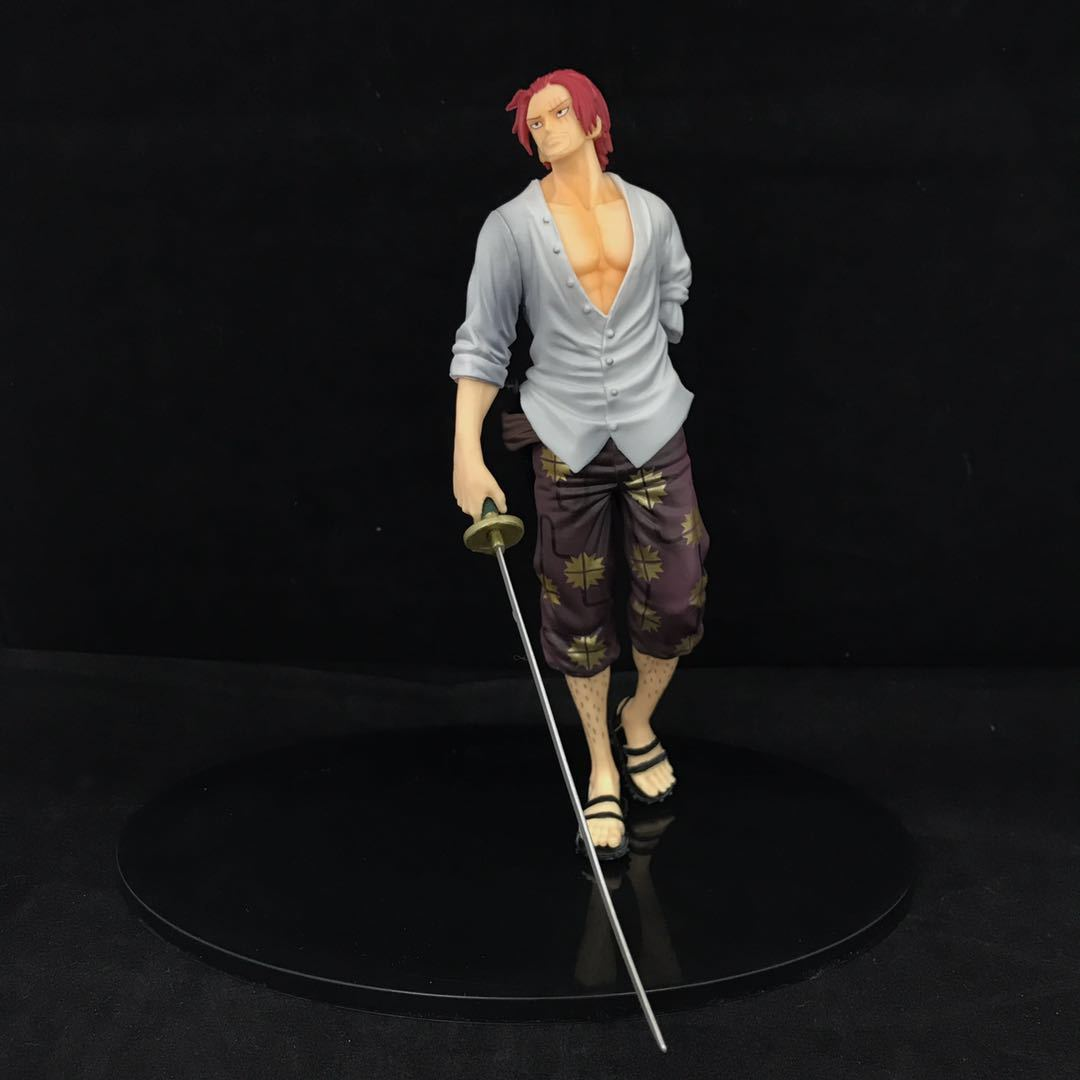 One Piece red hair Shanks figure